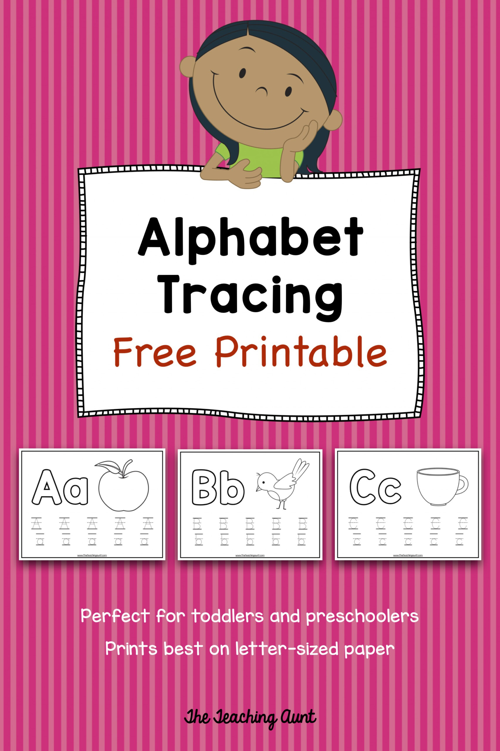 032 Free Newsletter Templates For Kindergarten Teachers with Tracing Letters Editable