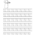 14 Interesting Letter N Worksheets For Kids | Kittybabylove pertaining to Tracing Letter N Worksheets