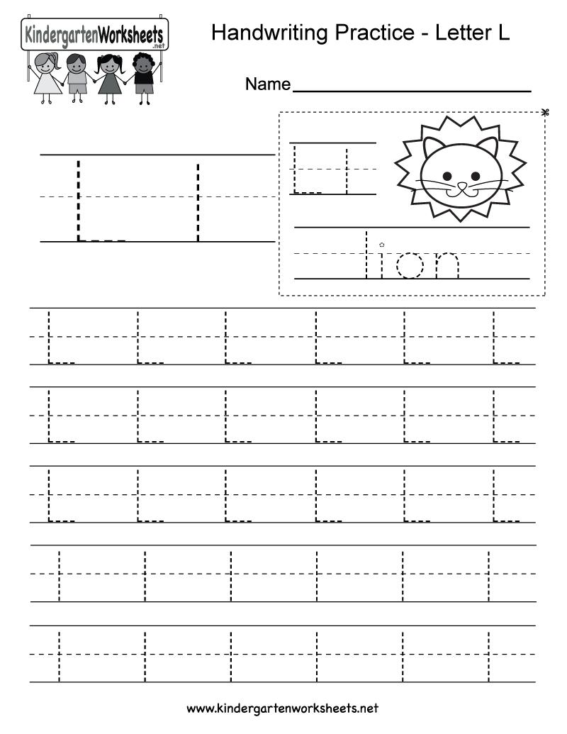 18 Entertaining Letter L Worksheets For Kids | Kittybabylove intended for Tracing Letter L Worksheets For Kindergarten