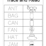 3 Letter Words | Spelling Worksheets, Kindergarten regarding Tracing Three Letter Words Worksheets