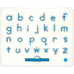 A To Z Magnatab Lowercase within Tracing Letters With Directional Arrows Font