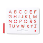 A To Z Upper Case Magnatab: Trace Each Letter With The in Tracing Letters With Directional Arrows