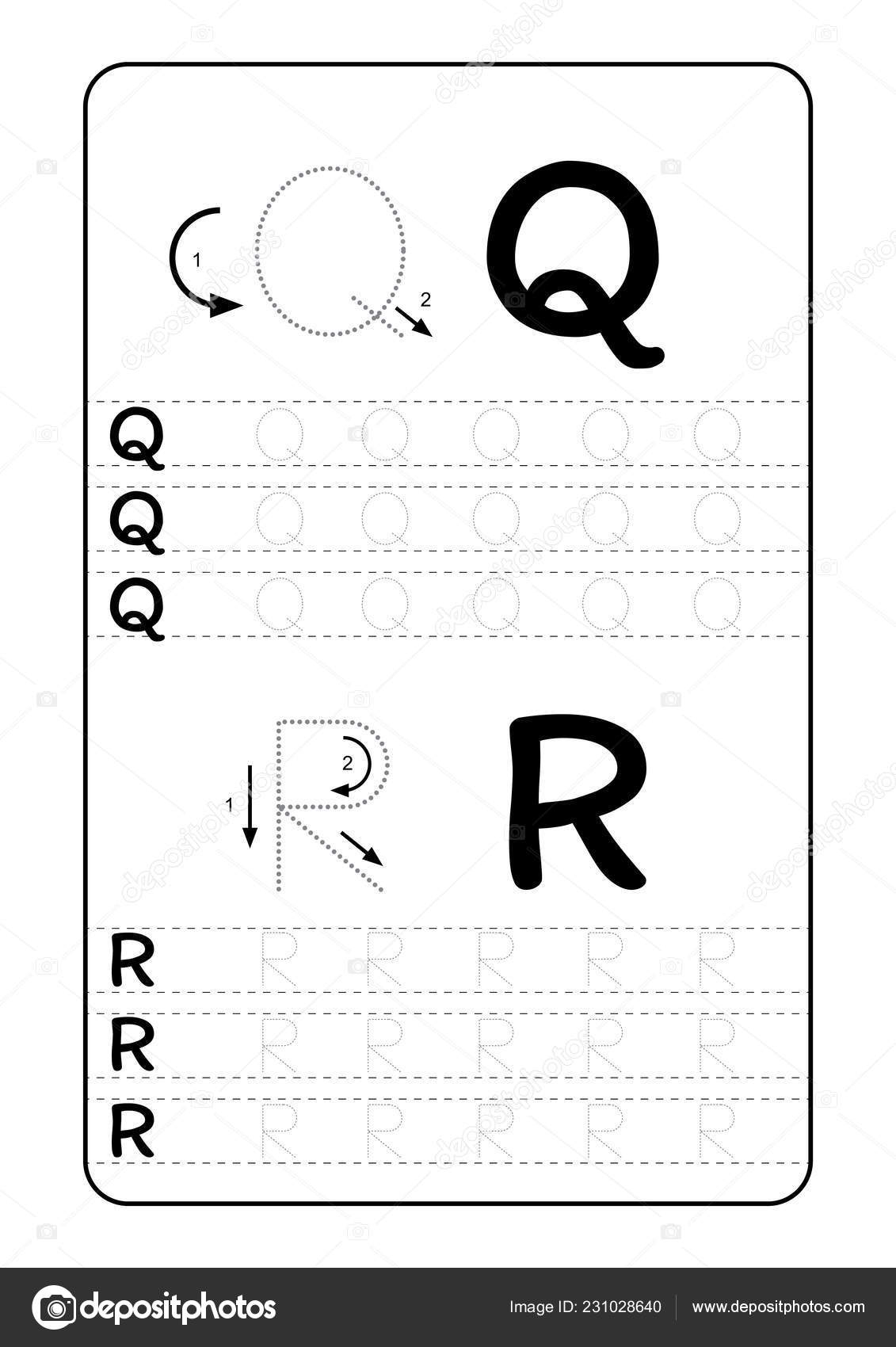 Abc Alphabet Letters Tracing Worksheet Alphabet Letters intended for How To Use Tracing Paper For Letters
