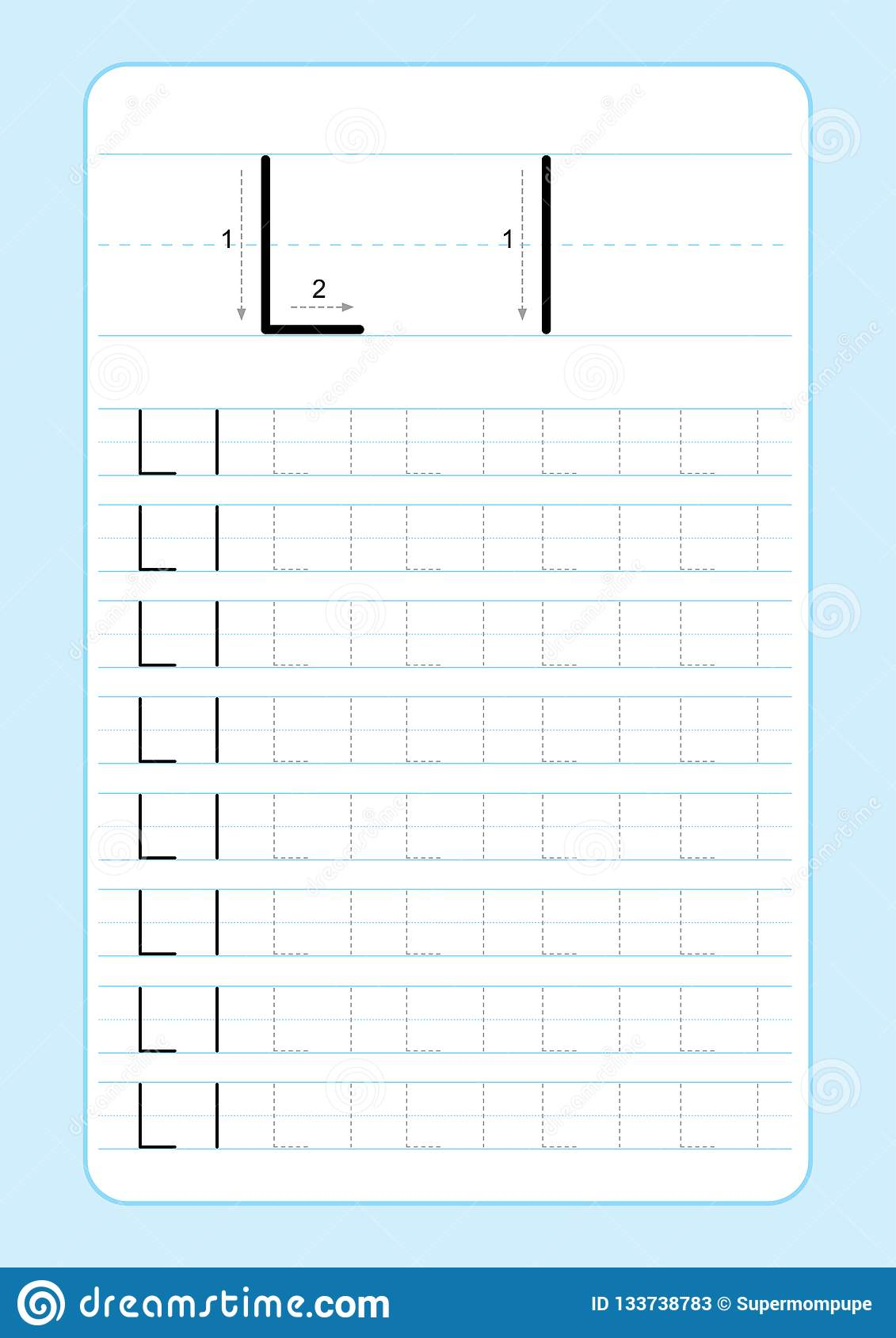 Abc Alphabet Letters Tracing Worksheet With Alphabet Letters inside I Letter Tracing Worksheet