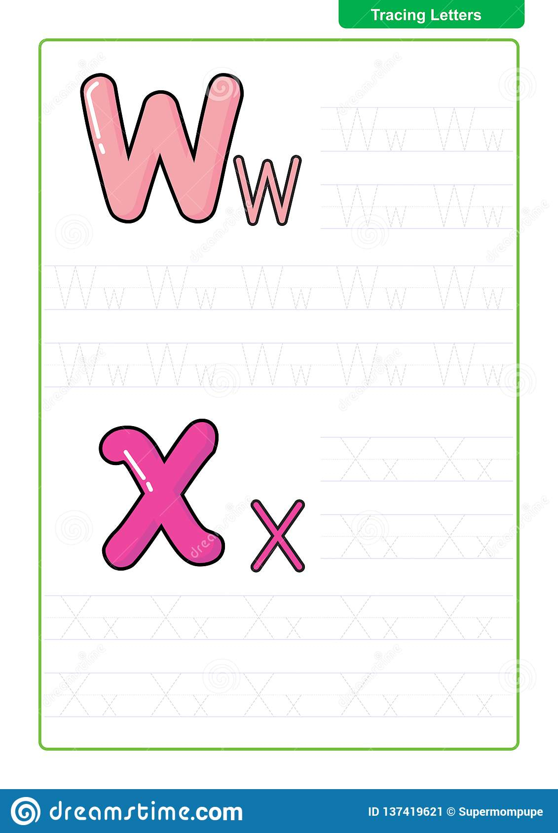 Abc Alphabet Letters Tracing Worksheet With Alphabet Letters inside Tracing Letters Font
