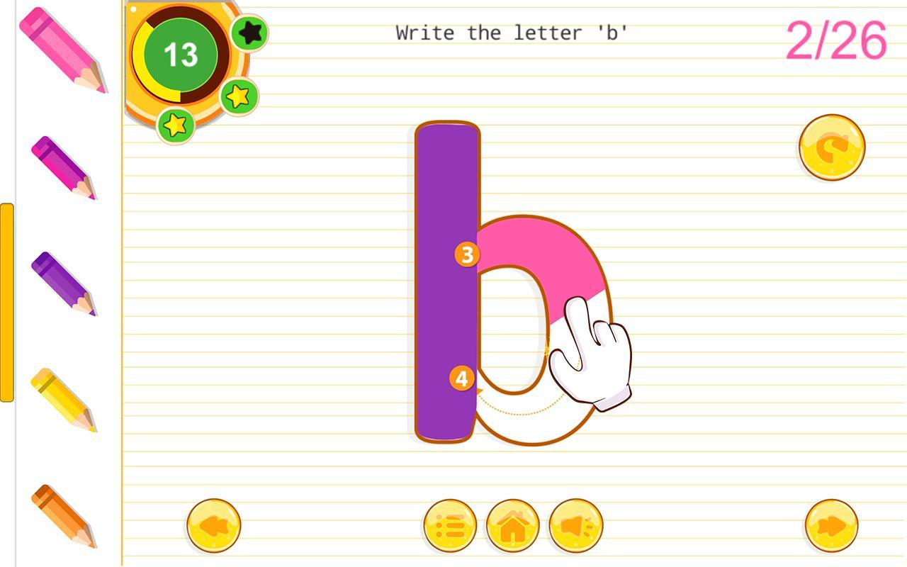 Abc Kids Tracing Alphabet Phonics Games For Android - Apk for Tracing Letters Online Games