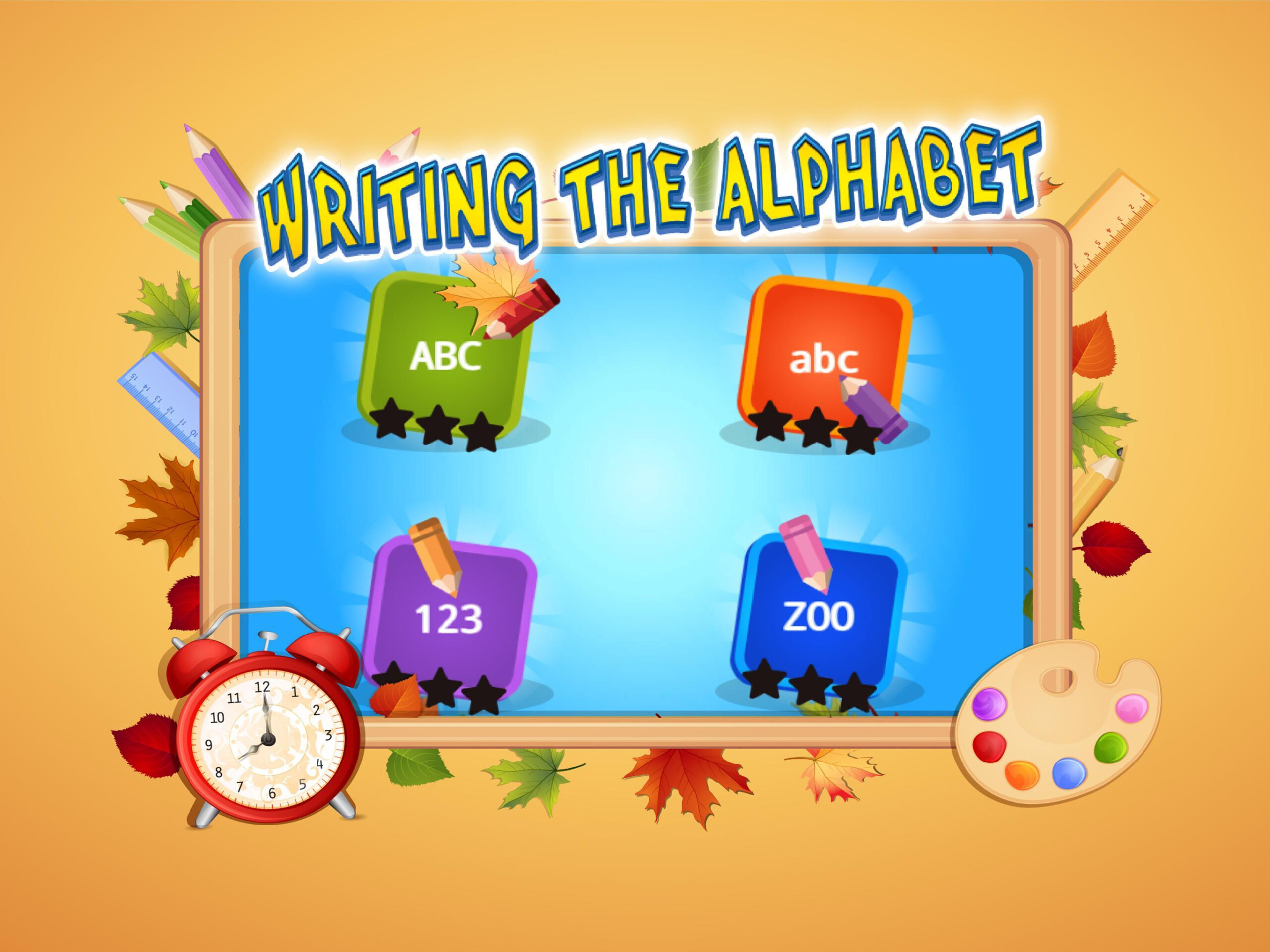 Abc Kids Writing Alphabet - Trace Handwriting App For pertaining to Tracing Letters App Android