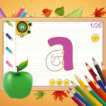 Abc Kids Writing Alphabet - Trace Handwriting App For throughout Tracing Letters App Android