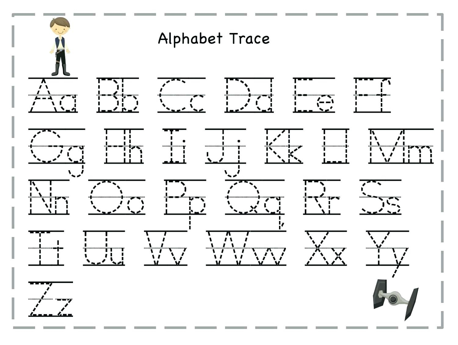 Abc Printable Worksheets – Giftedpaper.co pertaining to Tracing Letters Download