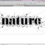 Add Stylish Ornaments To Type Using Adobe Illustrator within Tracing Letters In Illustrator