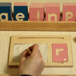 Alison's Montessori: (L167) Lowercase Print Tracing Board throughout Tracing Letters On Wood