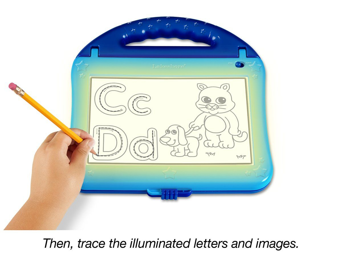 Alpha-Sketch Light-Up Center At Lakeshore Learning within Lakeshore Tracing Letters