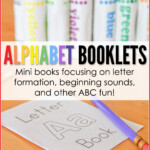 Alphabet Booklets - A To E Printable Set Freebie inside Tracing Letters Booklet