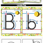 Alphabet Handwriting Cards With Directional Arrows - Buggy throughout Tracing Letters With Directional Arrows