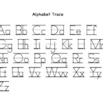 Alphabet Letter Tracing Printables | Activity Shelter inside Free Printable Alphabet Letters Upper And Lower Case Tracing