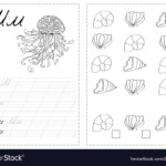 Alphabet Letters Tracing Worksheet With Russian intended for Action Alphabet Tracing Letters