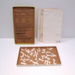 """Alphabet & Numbers Stencils / Tracing Letters 2"""" Set In Box pertaining to Tracing Stencils Letters"""
