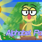 Alphabet Parade: Letter Adawn Somewhere in Alphabet Parade Tracing Letters