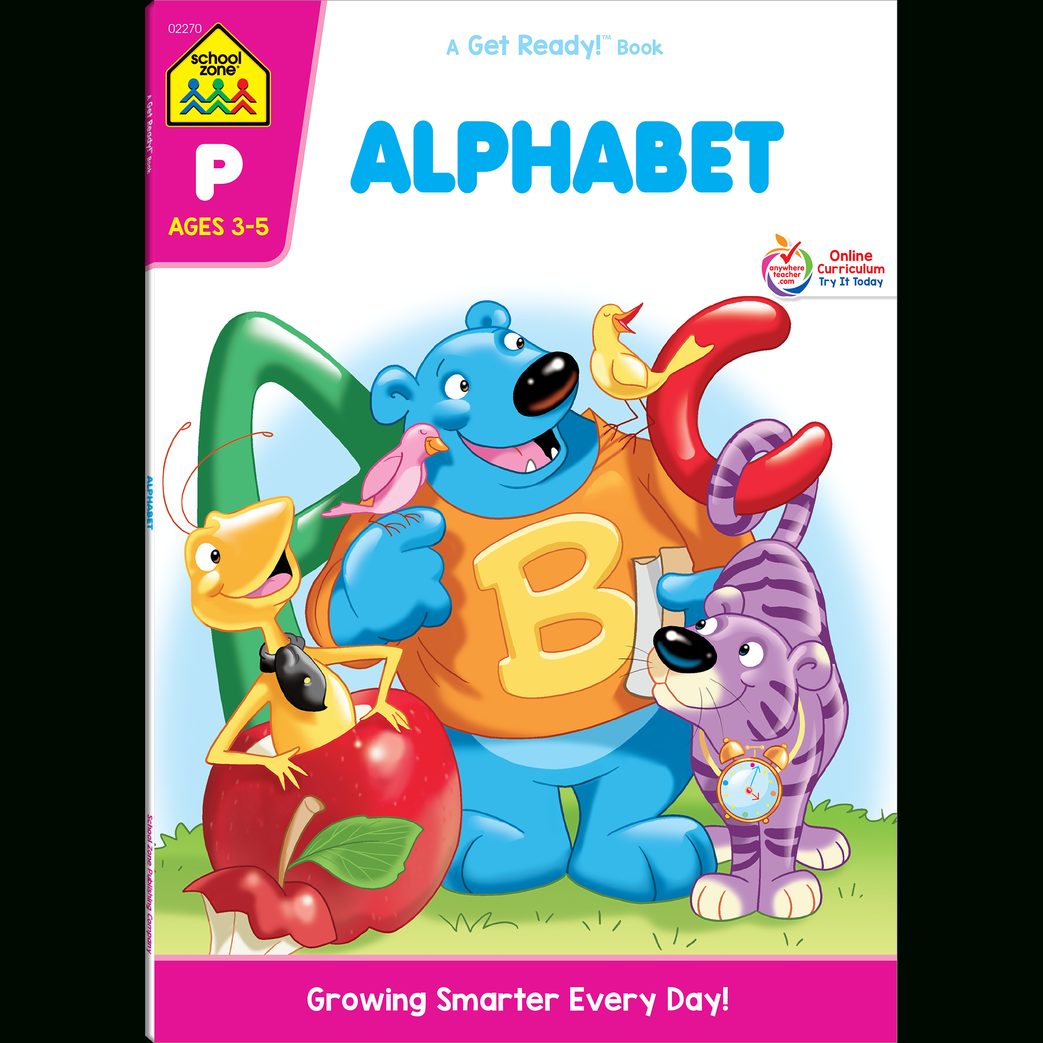 Alphabet Preschool Workbook within Interactive Tracing Letters Online