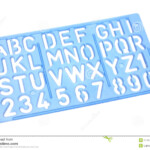 Alphabet Stencil Stock Photo. Image Of Plastic, Cutout pertaining to Tracing Stencils Letters