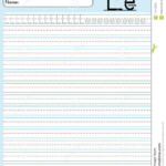 Alphabet To Trace- E Stock Vector. Illustration Of Sheet pertaining to Tracing Small Letter G Worksheet