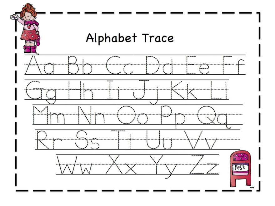 Alphabet Tracing - Google Search | Alphabet Tracing with Printable Tracing Letters For Kids