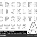 Alphabet Tracing Letters Step Step Letter Tracing Write intended for Writing Tracing Letters