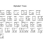 Alphabet Tracing Worksheet A Z | Printable Worksheets And for Tracing Letters Az Worksheets