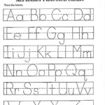 Alphabet Tracing Worksheet Free Printable | Alphabet Tracing regarding Trace Letters Worksheet For Grade 1