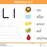 Alphabet Tracing Worksheet: Writing A-Z Illustration throughout Downloadable Tracing Letters