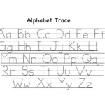Alphabet Tracing Worksheets A-Z Printable | Loving Printable with Letter Tracing Worksheets Uk
