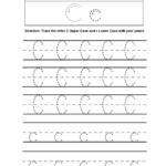 Alphabet Worksheets | Tracing Alphabet Worksheets in C Letter Tracing Worksheet