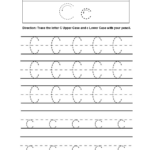 Alphabet Worksheets | Tracing Alphabet Worksheets pertaining to Tracing The Letters Worksheets