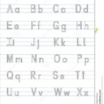 Alphabet Writing Practice For Kindergarten - Wpa.wpart.co pertaining to Tracing Letters Practice Sheets