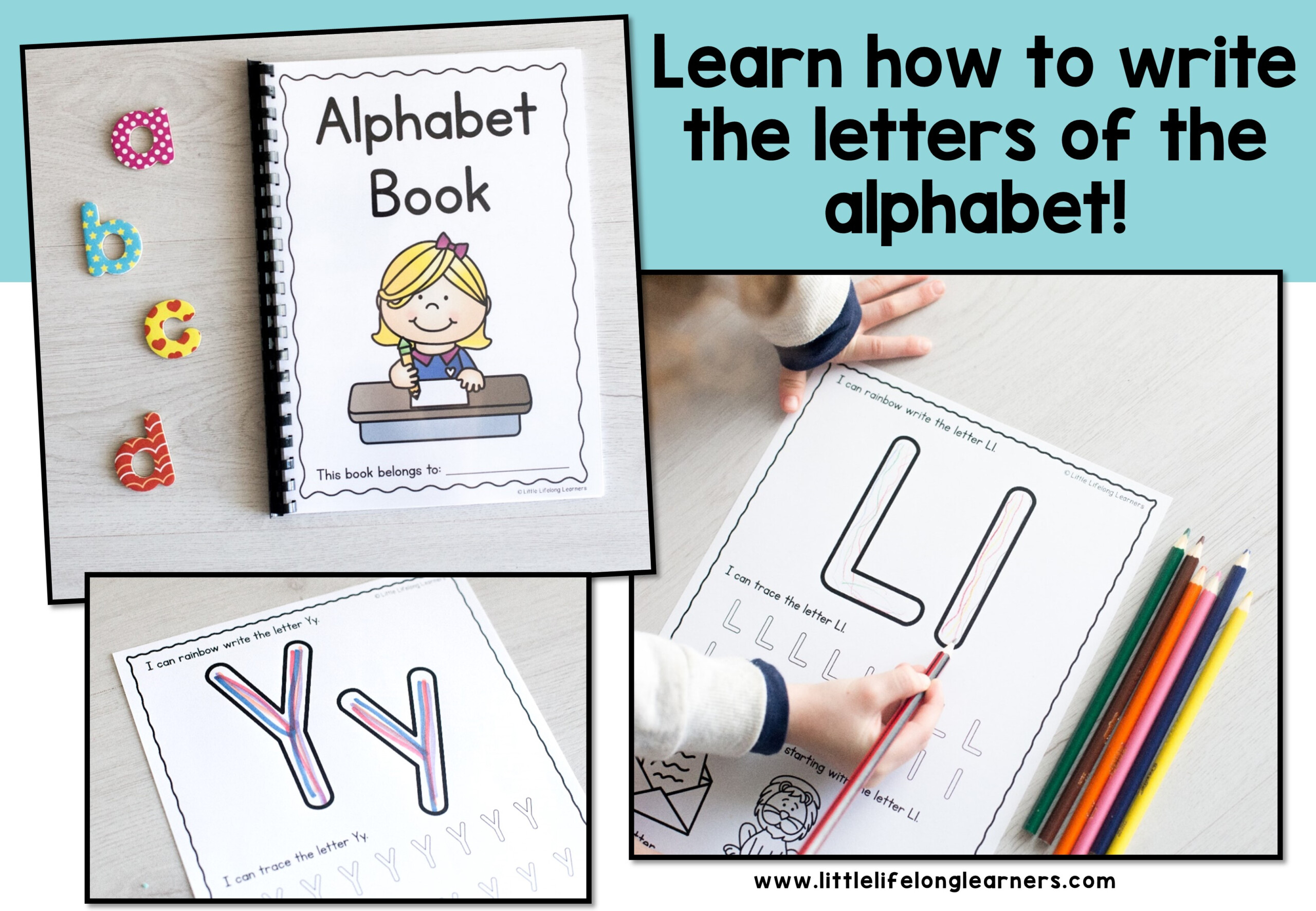 Alphabet Writing Worksheets intended for Qld Font Tracing Letters