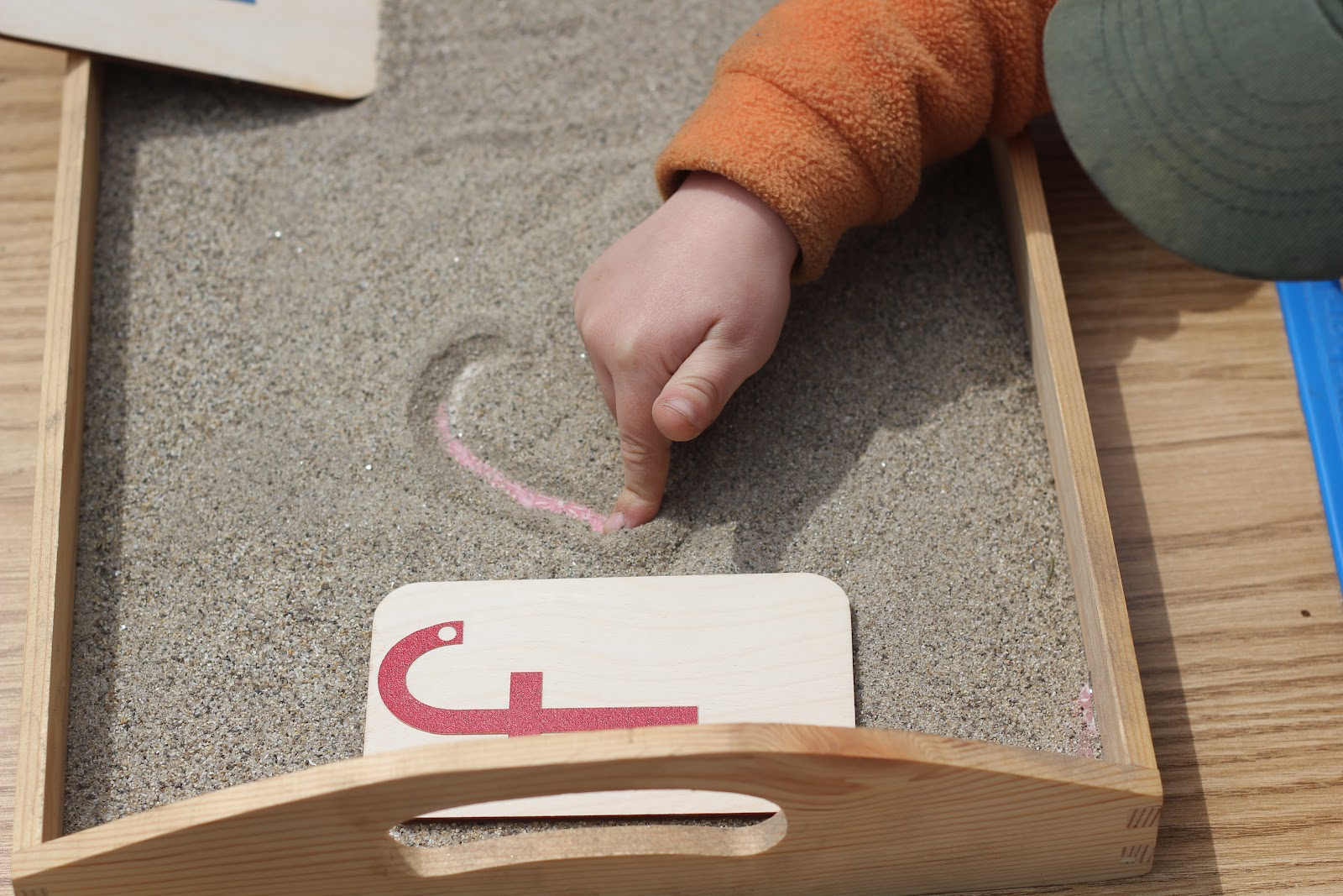 Any Given Moment: Life's A Sandy, Montessori Beach inside Tracing Letters In Sand