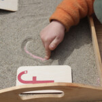 Any Given Moment: Life's A Sandy, Montessori Beach pertaining to Sand Tracing Letters