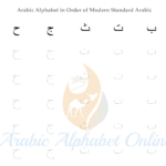 Arabic Alphabet Tracing Worksheets | Arabic Alphabet Online in Tracing Arabic Letters