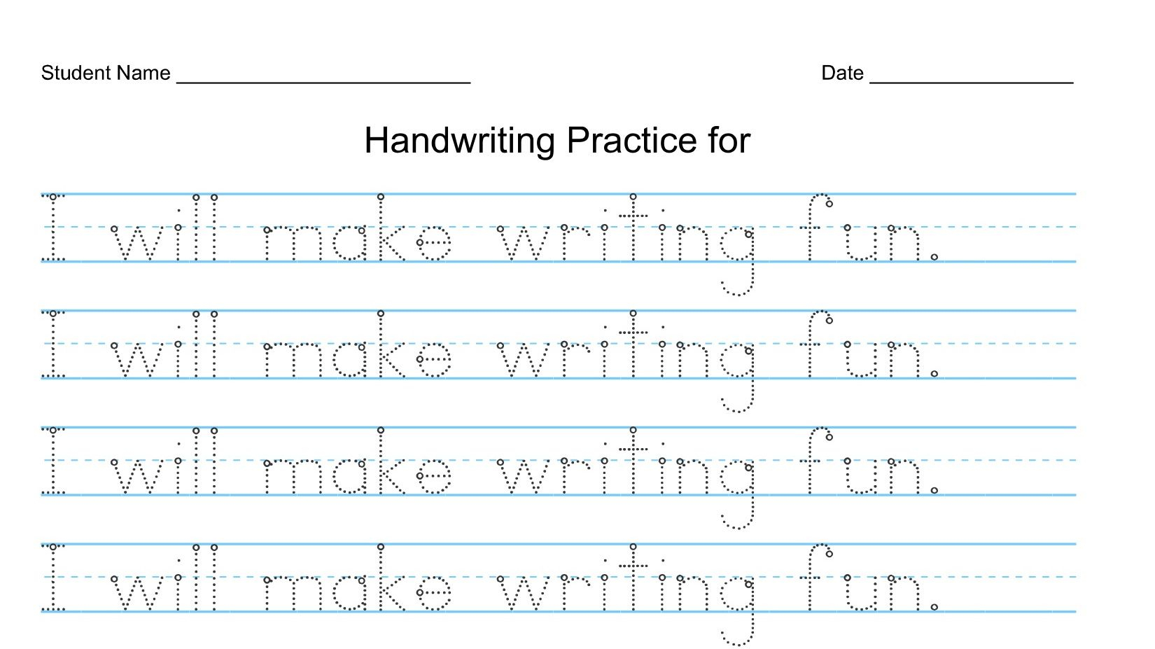 At 4-Years-Old, Writing Should Be Exploration - Not Writing within 3 Year Old Tracing Letters