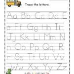 Az Worksheets For Kindergarten Letter I Tracing Worksheet M for Letter Tracing Worksheets Pdf A-Z