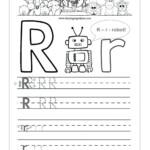 Az Worksheets For Kindergarten Letter R Tracing Worksheet throughout Tracing Letter R Worksheets
