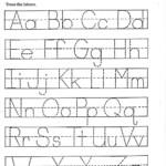 Az Worksheets For Kindergarten Traceable Alphabet Z Activity intended for Tracing Letters Az