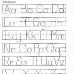 Az Worksheets For Kindergarten Traceable Alphabet Z Activity within Printable Tracing Alphabet Letters Az