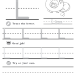 Capital Letter L | Lotty Learns | Lowercase A, Lower Case with regard to Tracing Letter L Worksheets For Kindergarten
