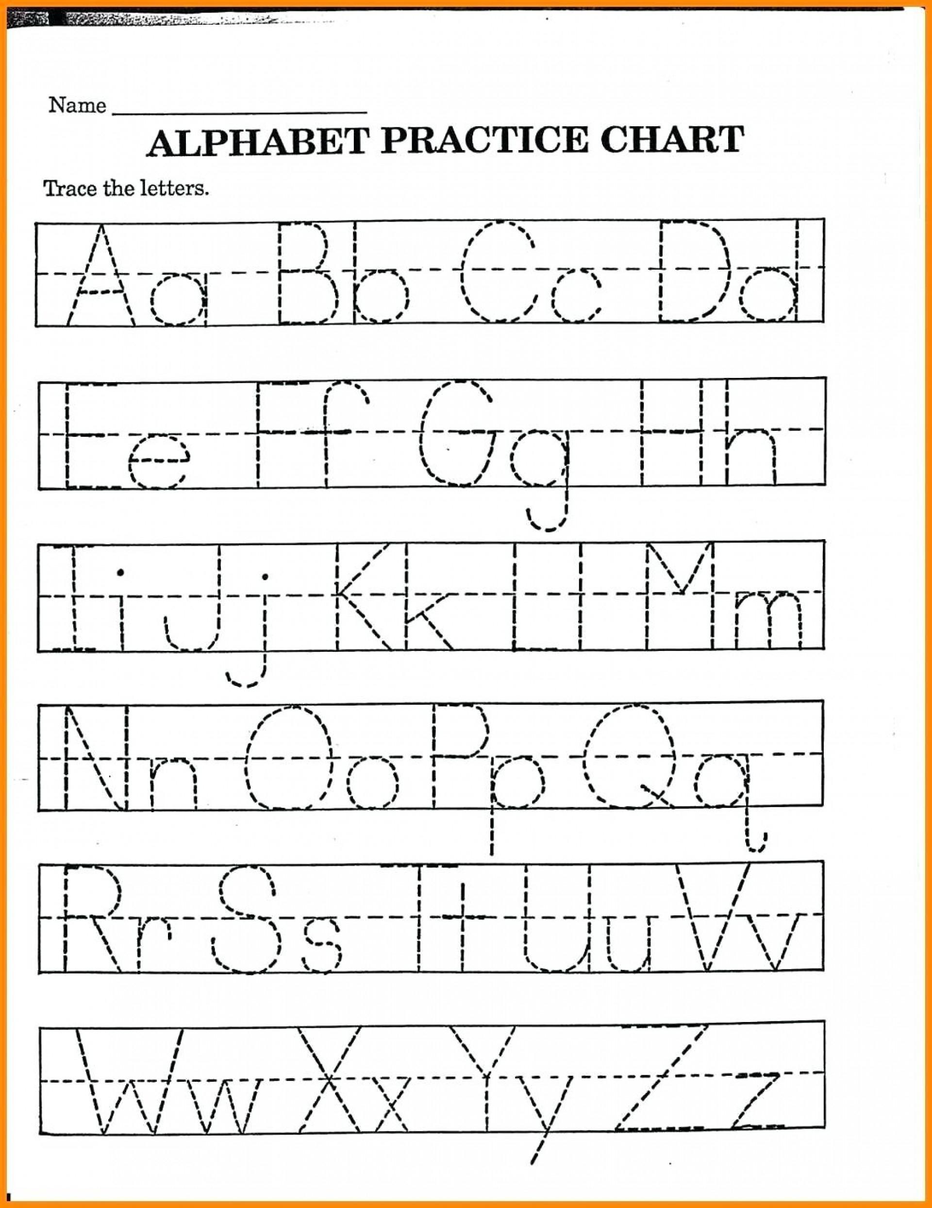 Coloring Book : Alphabet Printingksheetsksheet Kinder throughout Tracing Letters Of Your Name