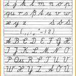 Coloring Book : Coloring Book Free Printable Cursives Chart regarding Abcs Tracing Cursive Letters