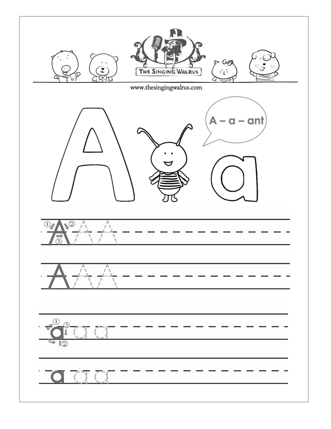 Coloring Book : Coloring Book Printable Letter Practicer with regard to Practice Tracing Letters For Kindergarten