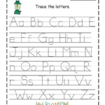Coloring Book : Free Preschool Printables Bestloring within Printable Tracing Letters Free