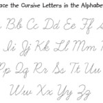 Coloring Book : Free Printable Fancy Cursive Letters For throughout Tracing Cursive Alphabet Letters