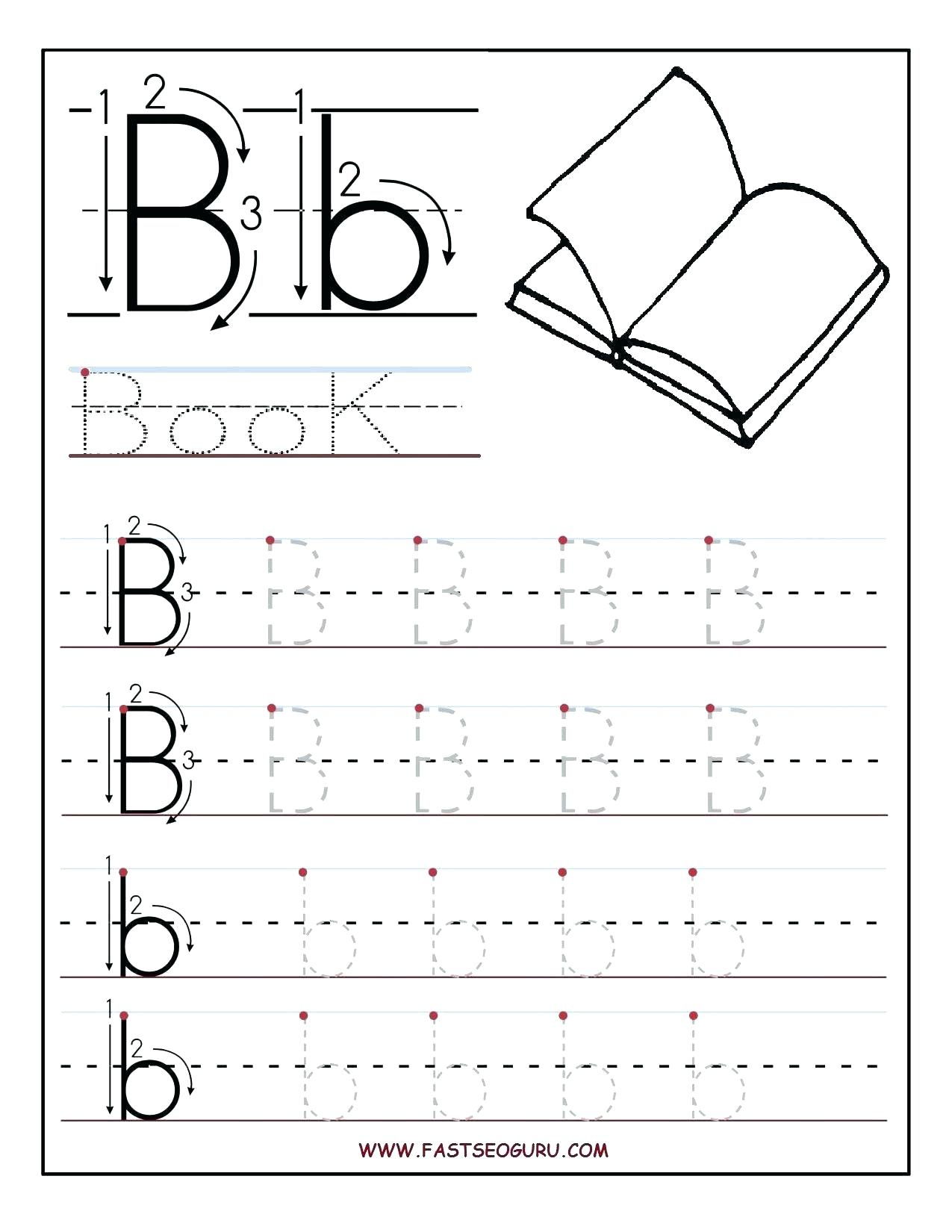 Coloring Book : Printable Letter Tracing Sheets For within Letter Tracing Worksheets Pre K